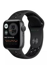 Apple Watch Series 6 Nike 44mm Space Gray Aluminum & Anthracite/Black Band GPS