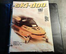 1997 SKI-DOO SHOP MANUAL TUNDRA, TOURING, FORMULA,SKANDIC P/N 484 0647 00 (523)