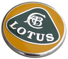 Lotus logo lapel pin - Yellow Green