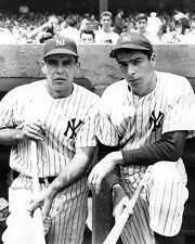 JOE DIMAGGIO AND CHARLIE KELLER YANKEES GREATS IN THIS CLASSIC  8x10