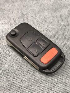 4 Bouton Clé Télécommande Coquille Housse pour Mercedes-Benz ML320 350 430 500