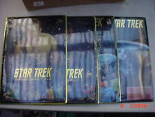 4 Star Trek Original Series Team Metal Pictures 30 years Sealed