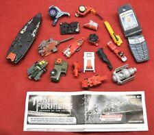 Transformers Mixed Lot Bits Parts Pieces Booklet Hasbro Takara Repair G1 4288