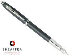 Sheaffer 100 Matte Grey Fountain Pen Fine 9319-0F