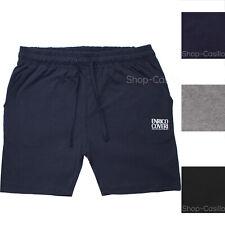 Pantalone Uomo Cotone Corto Con Elastico In Vita E Laccetto Bermuda Pantaloncino