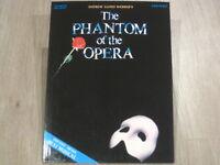 The Phantom of the Opera (musical) Sheet Music Song Book Easy Piano