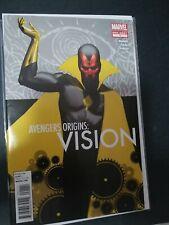 Avengers Origins #1 Vision  One-Shot Marvel 2012 NM. Cgc it!