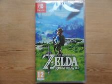JEU NINTENDO SWITCH ZELDA BREATH OF THE WILD NEUF SOUS BLISTER FRANCAIS