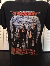 Vtg 91 Ratt Detonator Tour Shirt Sz L/XL Glam Rock Heavy Metal Pop 80's Pearcy
