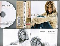 Promo KELLY CLARKSON Thankful JAPAN CD BVCP-24037 w/OBI+JAPANESE BOOKLET 1 Bonus