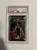 Lebron James PSA 10 2018 Panini Prizm That's Savage Cavs Lakers Gem Mint