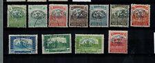 Briefmarken Ungarn DEBRECEN (DEBRECZIN) 65 - 75 gestempelt