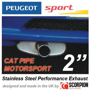 """PEUGEOT SPORT MOTORSPORT CAT 2"""" EXHAUST PEUGEOT 106 GTI RALLYE XSI - with CAT!"""