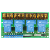4-Channel Relay Module Control High/Low Trigger Optocoupler Isolation Tool M1T6
