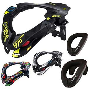 O'Neal Neck Collar Brace Genick Nacken Protektor Schutz Motocross Cross Kart DH