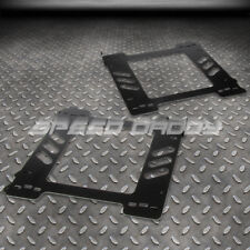 FOR 92-99 E36 2-DR COUPE LEFT+RIGHT PAIR RACING SEAT BASE MOUNT BRACKETS ADAPTER