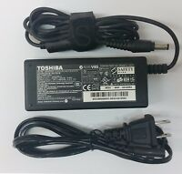 Lot of 10 Genuine Toshiba 19V 3.42A 65W AC Adapter Charger Power Supply Grade A