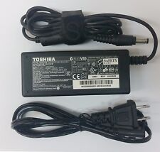 Genuine 65W AC Adapter Charger For Toshiba Laptop Power Supply Cord 19V 3.42A