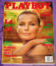 BO DEREK PLAYBOY MAGAZINE DEC 1994 CHRISTMAS ISSUE SEXY ELISA BRIDGES CENTERFOLD