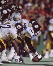 Dermontti Dawson HOF Hall of Fame Steelers signed 8x10 photo autograph auto