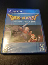 PS4 Limited Run Games Dragon Fantasy #214 Factory Sealed New