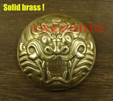 Brass Mythical Animals rivet stud screw back Conchos decor for leathercraft Z283