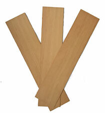 Spruce Wood Panels 100mm x 450mm x 5mm - Pack of 3 Sheets SPR3X3