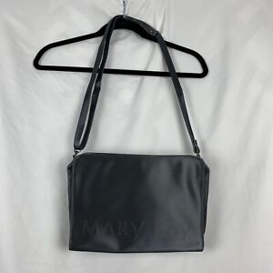 Mary Kay Tote Bag Carrier Consultant Makeup Cosmetic Case Organizer Black Large