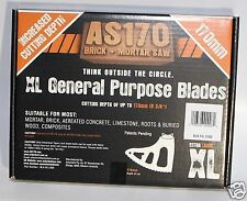 Arbortech BLA.FG.1200 XL General Purpose Blades AS170 Brick and Mortar