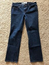 Ann Taylor LOFT Womens Sz 8 Straight Fit Dark Wash 5 Pocket Jeans
