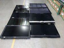 Lot of 10 Various Flat Big Screen TVs & Monitor Samsung LG etc For Parts Repair