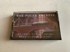 The Polar Express Cassette Tape Chris Van Allsburg Read by Liam Neeson
