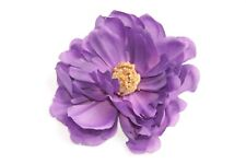 Damas Floral Púrpura inspirado Costura artística chic broche/hair piece único (s264)
