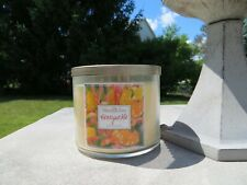 NEW-White Barn (Bath and Body Works) 3 wicks jar candle - Honeysuckle - 14.5 oz.