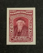 Newfoundland Stamp #62 Proof on Card MNG