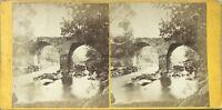 Puente De Pierre UK Estados Unidos Foto Estéreo Vintage Albúmina c1870