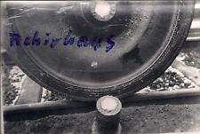 Foto SW Moselbahn Bw Ehrang Mosel Wagenwerkstatt gebrochene Radnarbe um 1960