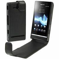 Custodia Pieghevole per Cellulare Cover Sony ST25i Xperia U Nuovo