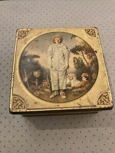 Ancienne Boite en Fer «Pierrot Gourmand»