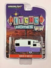 Greenlight 1:64 Hitched Homes Shasta 15' Airflyte Travel Trailer Purple