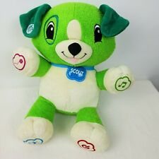 "Leap Frog ""My Pal Scout"" Educational Skill Electronic Interactive Toys Plush Dog"