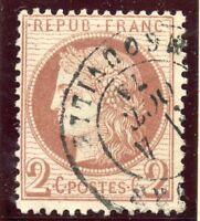 STAMP / TIMBRE DE FRANCE CLASSIQUE OBLITERE N° 51