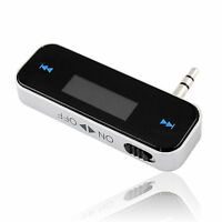 CAR WIRELESS MP3 FM RADIO TRANSMITTER FOR MOBILE IPHONE 5 6 IPOD SAMSUNG HTC LG