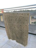 Antique handmade Bogolan strip- textile - woven mud cloth from Mali, West Africa
