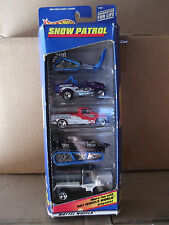 1998 Hot Wheels SNOW PATROL 5 CAR GIFT SET NIP
