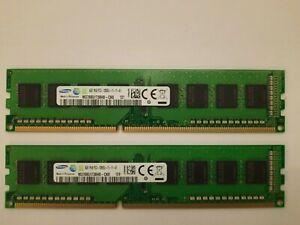 8GB Samsung M378B5173QH0-CK0 (2x4GB) PC3-12800 (DDR3-1600), DDR3 RAM, 1600 Mhz,