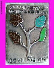 BG4185 - INSIGNE CLUB CYCLOTOURISTE VILLERSOIS RANDONNEE DES FORETS