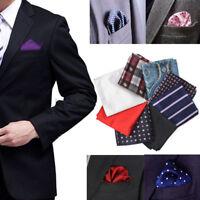 Men's Party Silk Suit Pocket Square Handkerchief Kerchief Towel Hanky Wedding