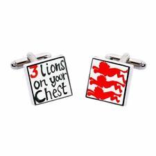 3 Leoni sul petto-Rosso Gemelli da Sonia Spencer, articoli da regalo in Scatola, RRP £ 20