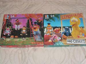 Vintage 1989 Sesame Street Puzzles